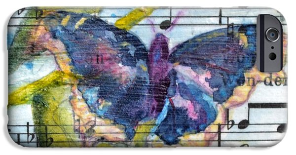 Sheets iPhone Cases - Wings IV iPhone Case by Beverley Harper Tinsley