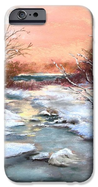 Concord. Winter iPhone Cases - Winter Brook iPhone Case by Jack Skinner