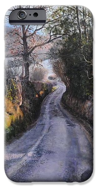 Winter in North Wales iPhone Case by Harry Robertson