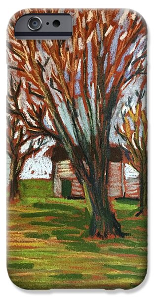 Best Sellers -  - Shed Pastels iPhone Cases - Winter into Summer iPhone Case by Tim Bruneau