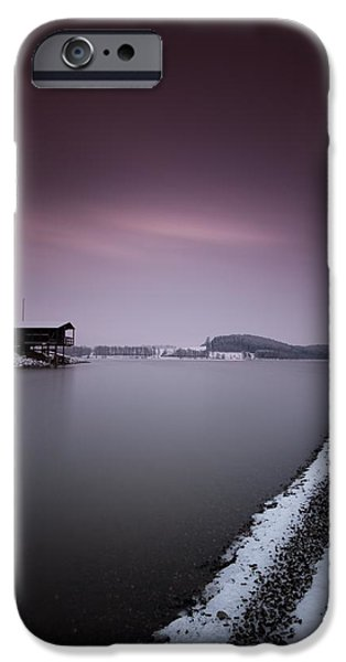 Snow iPhone Cases - Winter Morning iPhone Case by Gerd Doerfler