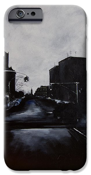 Recently Sold -  - Empire State iPhone Cases - Winter Night NYC iPhone Case by Lisa LoCurto