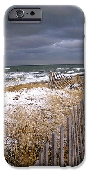 Best Sellers -  - Winter Storm iPhone Cases - Winter on Cape Cod iPhone Case by Charles Harden