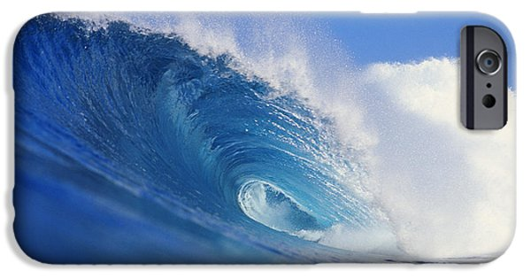Turbulent Skies iPhone Cases - Winter Surf iPhone Case by Vince Cavataio - Printscapes