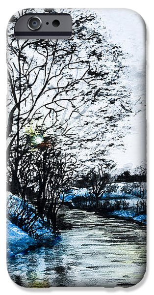 Winter Time iPhone Case by Svetlana Sewell
