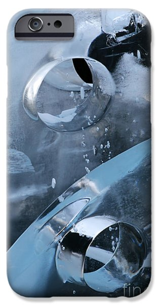 Abstract Forms Photographs iPhone Cases - Winters Jewels iPhone Case by Sharon Mau