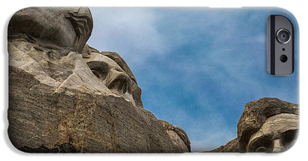Lincoln iPhone Cases - Wise Men iPhone Case by Mark Beecher