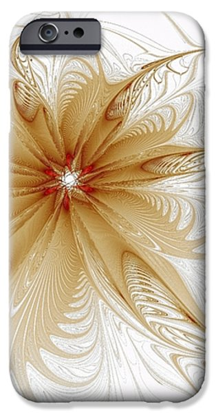 Wispy iPhone Case by Amanda Moore