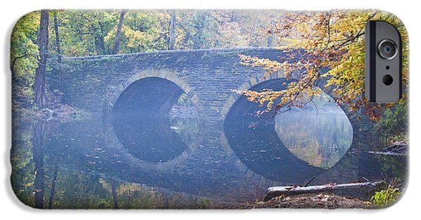 Best Sellers -  - Creek iPhone Cases - Wissahickon Creek at Bells Mill Rd. iPhone Case by Bill Cannon