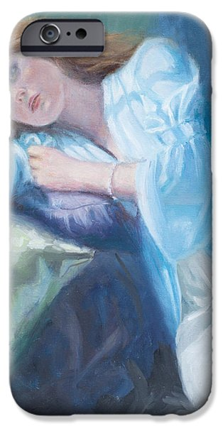 Wistful iPhone Case by Sarah Parks