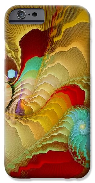 With a Gentle Breath iPhone Case by Gayle Odsather