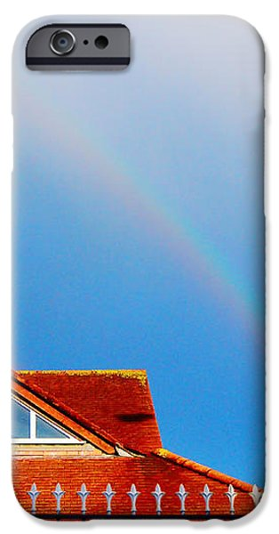 With Double Bless of Rainbow iPhone Case by Jenny Rainbow