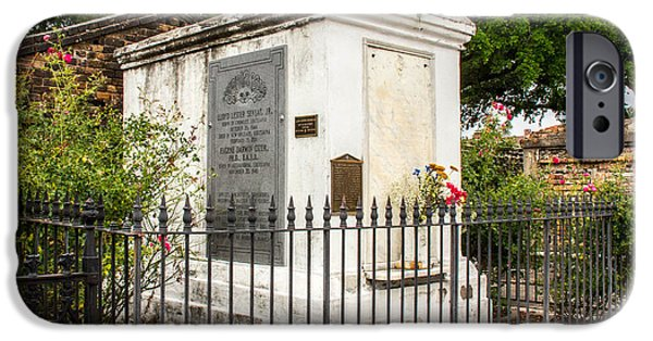 Cemetary iPhone Cases - Within The Gated Fence iPhone Case by Robert Kinser