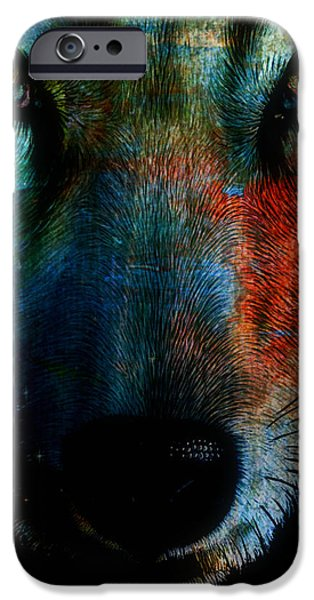 Wolf Sky iPhone Case by WBK