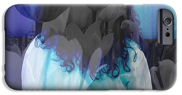 Piano iPhone Cases - Woman At The Piano iPhone Case by Kristi Kruse