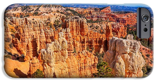 Red Rock iPhone Cases - Wonderland iPhone Case by John Bailey