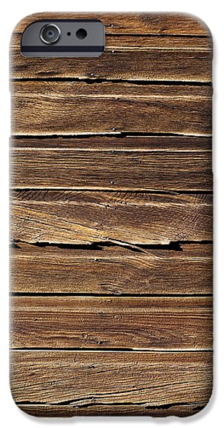 Wood Grain iPhone Cases - Wood Texture iPhone Case by Kelley King