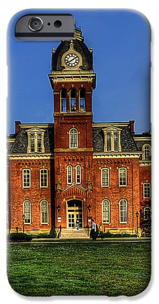 Woodburn Hall in morning iPhone Case by Dan Friend