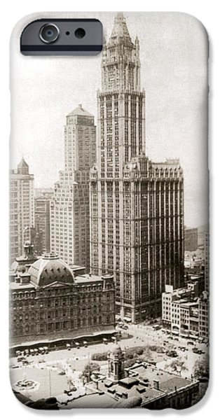 WOOLWORTH BUILDING, 1920s iPhone Case by Granger
