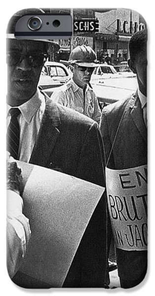 WOOLWORTHS PROTEST, 1963 iPhone Case by Granger