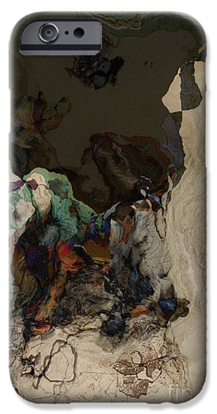 Work Tool Mixed Media iPhone Cases - Work Series I iPhone Case by Brenton Cooper