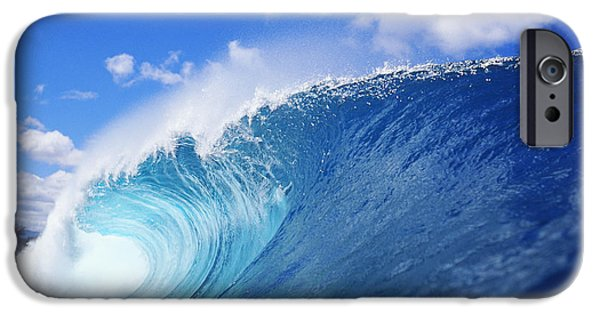 Condition iPhone Cases - World Famous Pipeline iPhone Case by Vince Cavataio - Printscapes