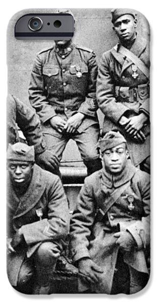WORLD WAR I: BLACK TROOPS iPhone Case by Granger