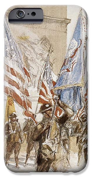 WORLD WAR I: VICTORY PARADE iPhone Case by Granger