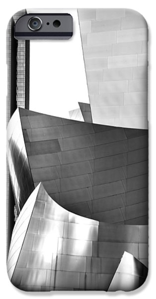 Modern Architecture iPhone Cases - Worlds Apart iPhone Case by Az Jackson