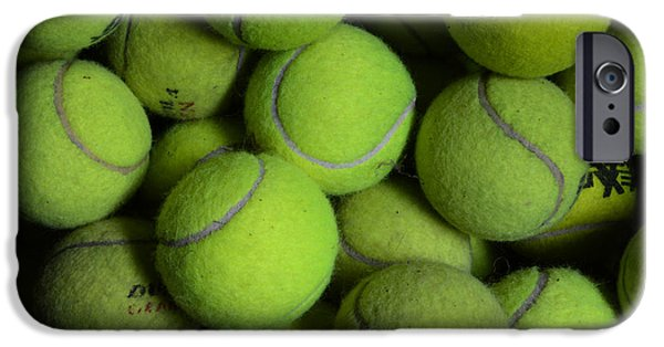 Wimbledon Photographs iPhone Cases - Worn Out Tennis Balls iPhone Case by Paul Ward