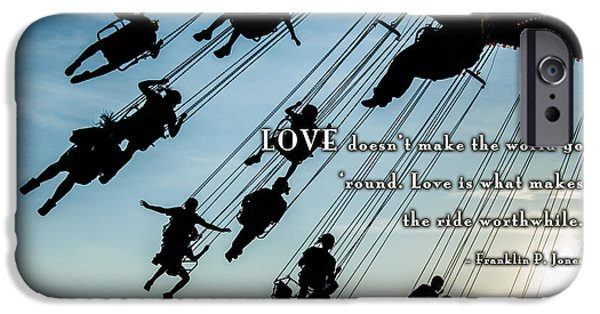 Love Asheville iPhone Cases - Worthwhile iPhone Case by David Simchock