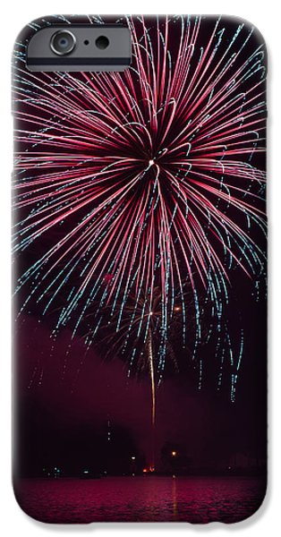 Fireworks iPhone Cases - Wow Factor iPhone Case by Bill Pevlor