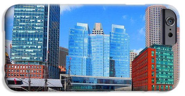 Buildings Mixed Media iPhone Cases - WOW that havenly feeling that is Boston Camera can tell more NavinJoshi FineArtAmerica Pixels iPhone Case by Navin Joshi