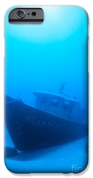 Wreck Of The St. Anthony iPhone Case by Dave Fleetham - Printscapes