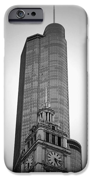 Wrigley iPhone Cases - Wrigley - Youve Been Trumped B n W iPhone Case by Richard Andrews