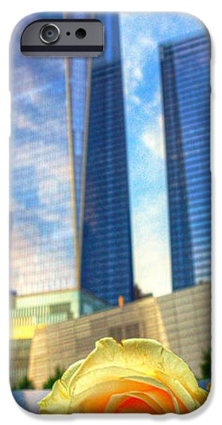 Twin Towers Nyc iPhone Cases - Wtc 001 iPhone Case by Jeff Stallard