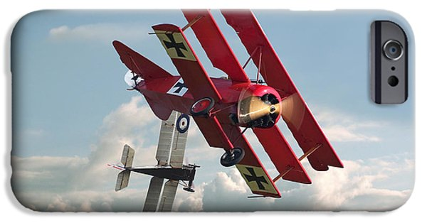 World War One iPhone Cases - WW1 - Combat - One on One iPhone Case by Pat Speirs