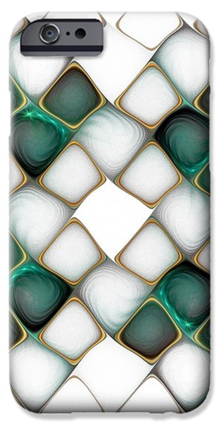 X Marks the Spot iPhone Case by Amanda Moore