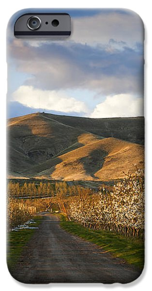Yakima Valley Spring iPhone Case by Mike  Dawson