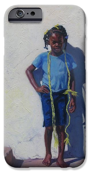 Cute. Sweet iPhone Cases - Yellow Rope iPhone Case by Colin Bootman