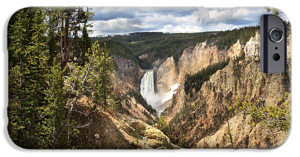 Grand Canyon iPhone Cases - Yellowstone National Park iPhone Case by Robert Bales