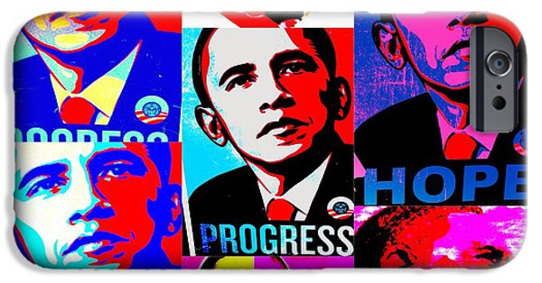 Obama iPhone Cases - Yes We Can  iPhone Case by Funkpix Photo Hunter