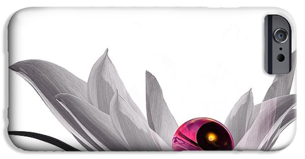 Flora Digital iPhone Cases - Yin Yang iPhone Case by Photodream Art