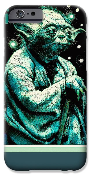 Recently Sold -  - Nation iPhone Cases - Yoda iPhone Case by Lanjee Chee