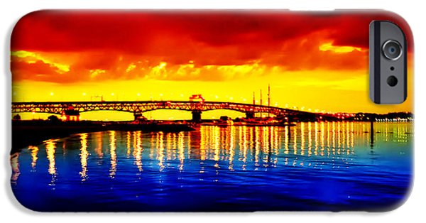 Yorktown iPhone Cases - Yorktown Virgina iPhone Case by Bill Cannon