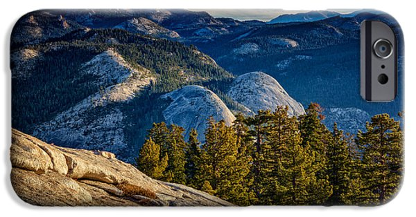 Basket iPhone Cases - Yosemite Morning iPhone Case by Rick Berk