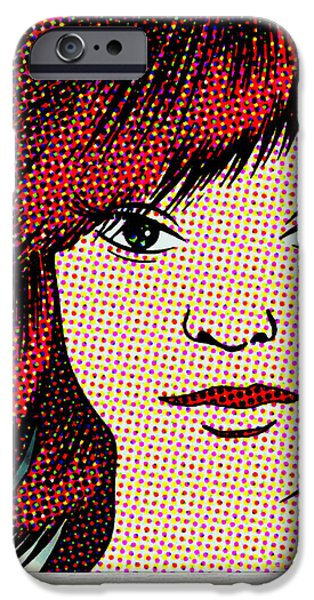 Lips iPhone Cases - You Are Beautiful iPhone Case by Lee Wastler