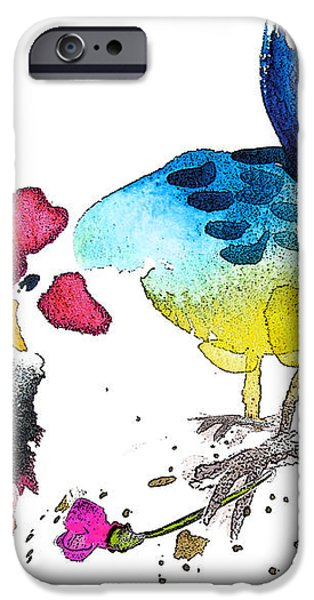 You Are my Sweet Heart iPhone Case by Miki De Goodaboom