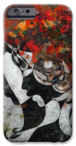 You Are The Only One 3 iPhone Case by Angelina Vick