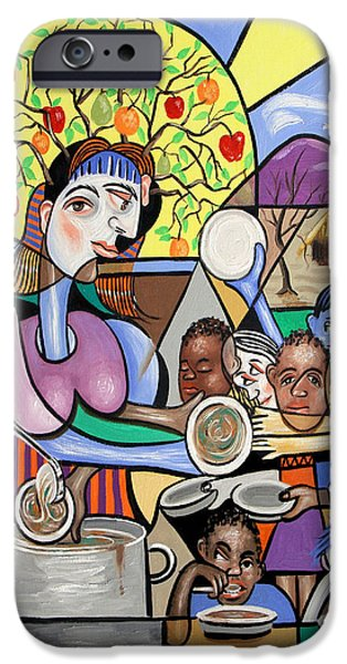 Art By God iPhone Cases - You Will Know Them By There Fruits iPhone Case by Anthony Falbo